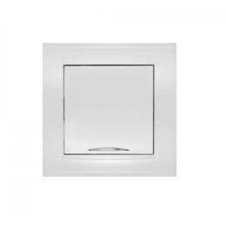 Выключатель 1-кл. СП Бриллиант 10А IP20 с подсветкой бел. Universal 7947397