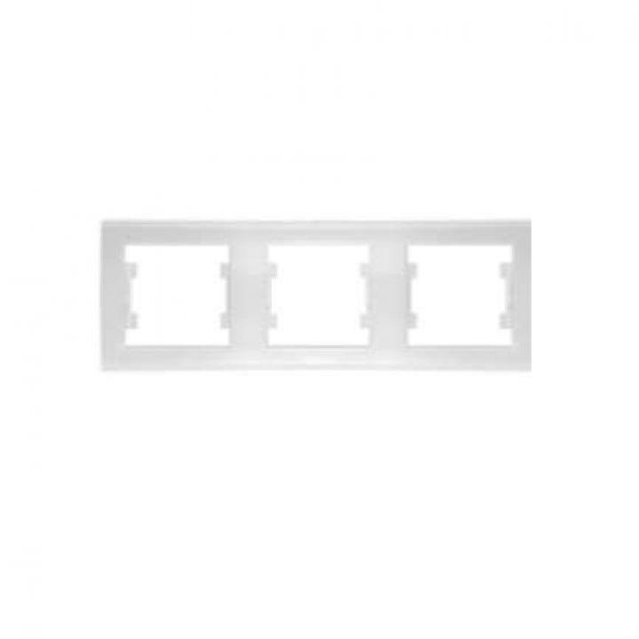 Рамка 3-м Бриллиант горизонт. бел. UNIVersal 7947489