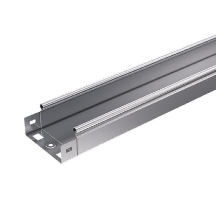 Лоток листовой неперфорированный 50х50 L3000 сталь 0.6мм S3 DKC SNL3505