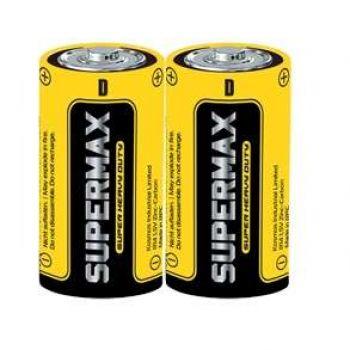 Элемент питания солевой S R20 (уп.2шт) Supermax SUPR20