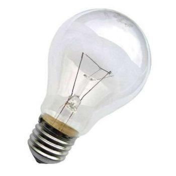 Лампа накаливания Б 60Вт E27 230-230В (верс.) Лисма 303393400\303456600