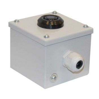 Пост кнопочный ПКУ 15-21.111 54 У2 (КЕ081/2 (1з+1р) красн. + PG-13.5) пост управления Электротехник ET054942