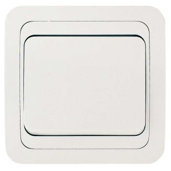 Выключатель 1-кл. СП Mimoza 10А IP20 бел./бел. Makel 12001