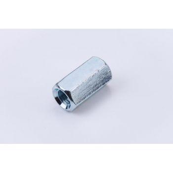 Гайка соединительная М8 цинк. DIN 6334 (уп.50шт) пакет СТРОЙМЕТИЗ UTORM3050058