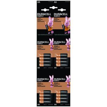 Элемент питания Duracell LR6-4BL BASIC 4х4 (16/208/18304)5009139/5008091 (блист.16шт) Duracell Б0046868
