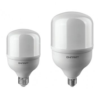 Лампа 82 901 OLL-T80-30-230-865-E27 30Вт ОНЛАЙТ 82901