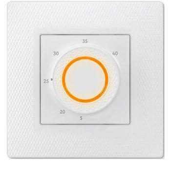 Терморегулятор прогр. LumiSmart 25 датчик пола/датчик возд. 3.5кВт 16А бел. (в компл. переходник для рамок Unica/Valena/Basic 55) ССТ 2239191