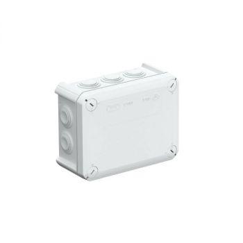 Коробка распределительная 150х116х67мм IP66 T 100 10х25 свет. сер. OBO 2007077