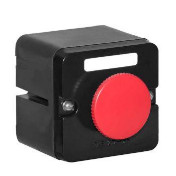 Пост кнопочный ПКЕ-212/1 красн. гриб. Электродеталь ПКЕ-212/1.1К.Гр
