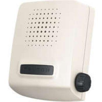 Звонок проводной Сверчок электрон. гонг регул. громкости 220В 80-90дБА бел. Тритон СВ-04Р
