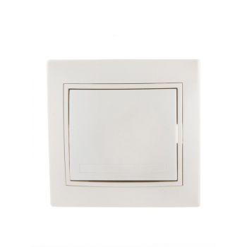 Выключатель 1-кл. СП Мира 10А IP20 жемчуж. бел. перламутр LEZARD 701-3030-100