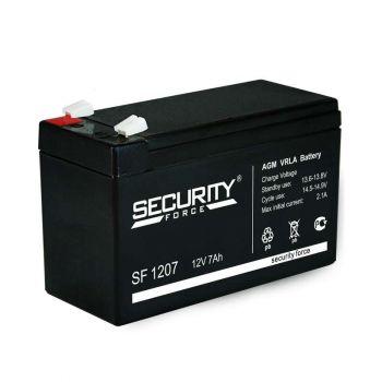 Аккумулятор 12В 7А.ч Security Force SF 1207