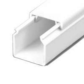 Кабель-канал 16х16 L2000 пластик с двойным замком УралПак КК-19016016-140