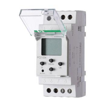 Реле времени PCZ-524 (24-264В AC/DC 16А 1перекл. контакт IP20) F&F EA02.002.004