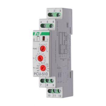 Реле времени PCU-510 (многофункц. 230В 2х8А 2перекл. IP20 монтаж на DIN-рейке) F&F EA02.001.009