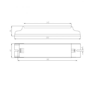 Драйвер ИПС60-700ТД(400-700) 0100 IP20 Аргос