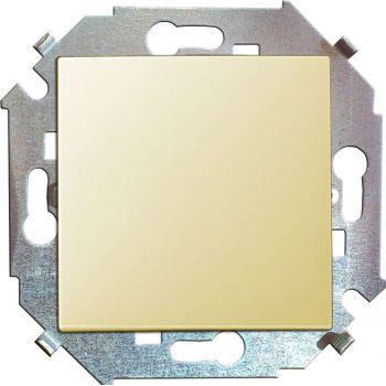 Механизм выключателя проходной 1-кл. СП Simon15 16А IP20 сл. кость Simon 1591201-031