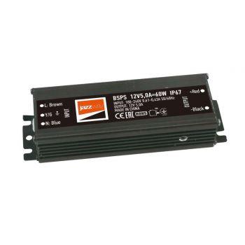 Драйвер BSPS 12В 5.0A=60Вт влагозащ. IP67 JazzWay 3329273A