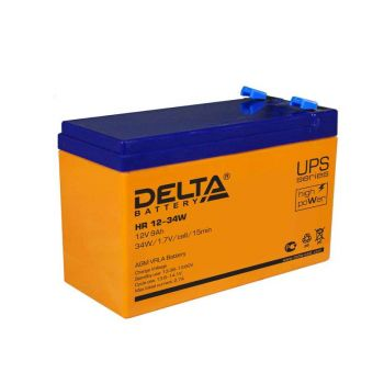Аккумулятор 12В 9А.ч Delta HR 12-34W