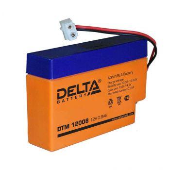 Аккумулятор 12В 0.8А.ч Delta DTM 12008