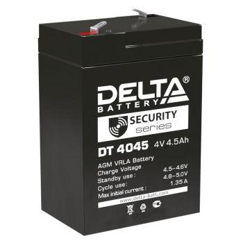 Аккумулятор для прожекторов 4В 4.5А.ч Delta DT 4045