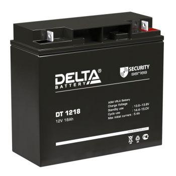 Аккумулятор 12В 18А.ч Delta DT 1218