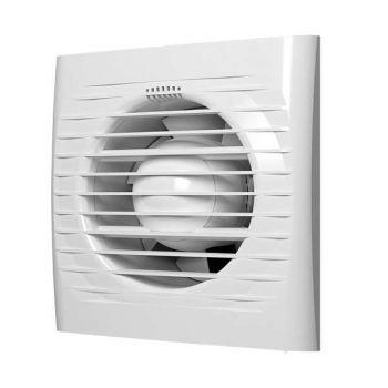 Вентилятор вытяжной осевой 125мм обр. клапан бел. ERA OPTIMA 5C