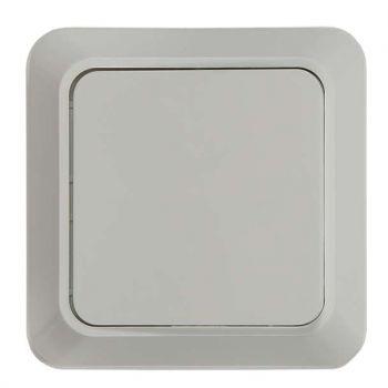 Выключатель 1-кл. BOLLETO накл. 7021 бел. ASD / IN HOME 4680005959747