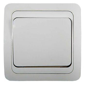 Выключатель 1-кл. CLASSICO 2021 бел. ASD / IN HOME 4680005959846