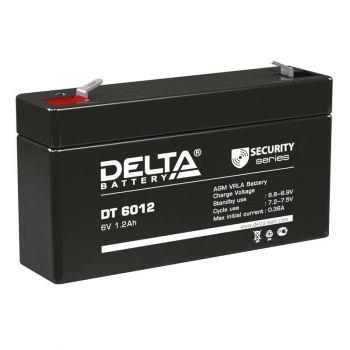 Аккумулятор 6В 1.2А.ч Delta DT6012