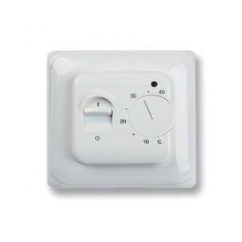 Термостат мех. MT-26 датчик пола +5/+40град.C 230В 16А 3.5кВт бел. Extherm MT-26