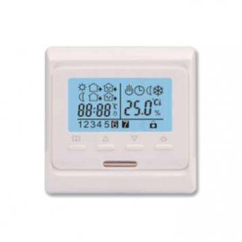 Термостат программ. ST-16 с контролем времени датчик пола; датчик возд. +5/+40град.C 230В 16А 3.5кВт EXTHERM ST16
