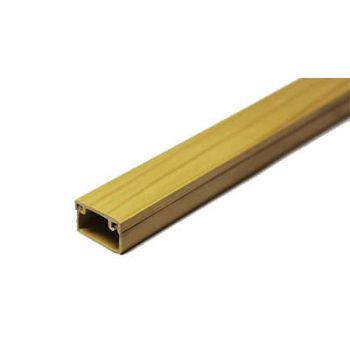 Кабель-канал 15х10 L2000 пластик с двойным замком сосна УралПак КК-3115010-200