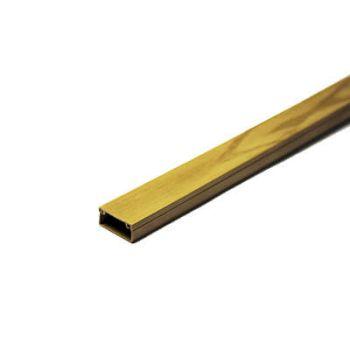 Кабель-канал 20х10 L2000 пластик с двойным замком сосна УралПак КК-3120010-160