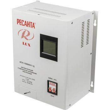 Стабилизатор напряжения АСН-10000 Н/1-Ц Lux 1ф 10кВт IP20 Ресанта 63/6/18