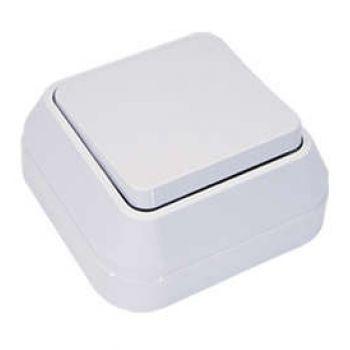 Выключатель 1-кл. ОП 10А IP20 бел. Makel 45101