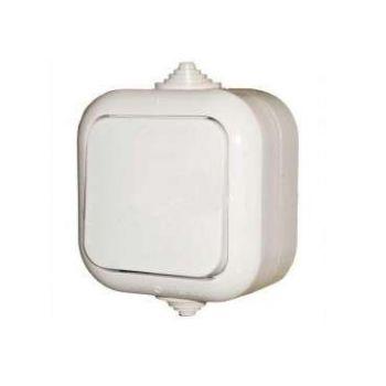 Выключатель 1-кл. ОП 10А IP44 бел. БЕЛТИЗ А1 10-001