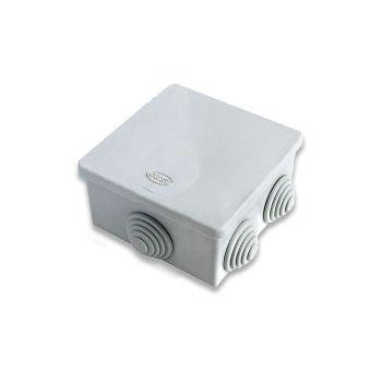 Коробка распр. ОП 80х80х40 IP54 сер. ГУСИ С3В86 Евро