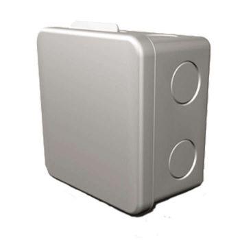 Коробка распределительная ОП 80х80х55мм IP54 сер. ГУСИ С3В80 Евро