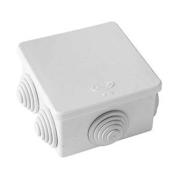 Коробка распр. ОП 80х80х40 IP54 бел. ГУСИ С3В86 Б Евро