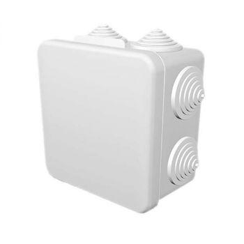 Коробка распределительная ОП 100х100х55мм IP54 бел. ГУСИ С3В108 Б Евро