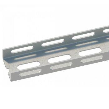 Профиль монтаж. К235 швеллер L2000 сталь 2.5мм У2 СОЭМИ 113556621