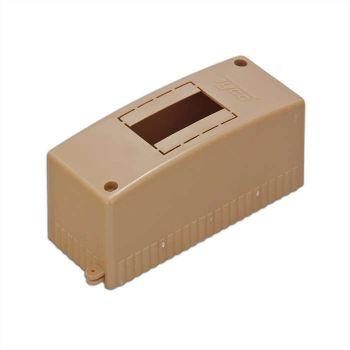 Бокс ОП Тусо 2мод. IP30 коричн. Рувинил 68022К