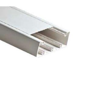 Кабель-канал 100х40 L2000 пластик бел. Рувинил РКК-100х40